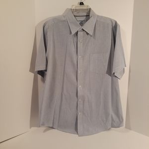 Croft&Barrow Men's dress shirt S/S size XL